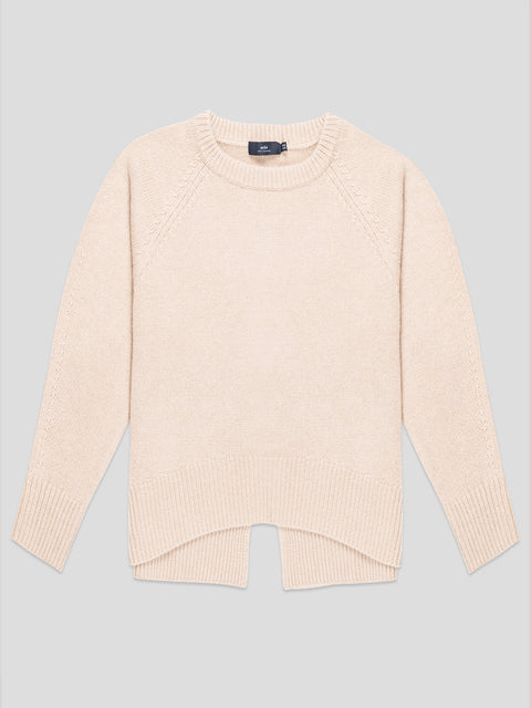 Bredin Brown Raglan Sleeve Sweater
