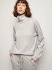 Boyfriend Grey Turtleneck Sweater
