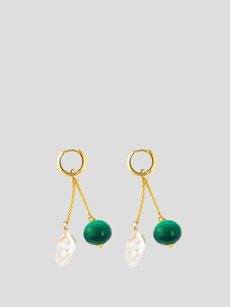 Charm 18k Yellow Gold Earrings