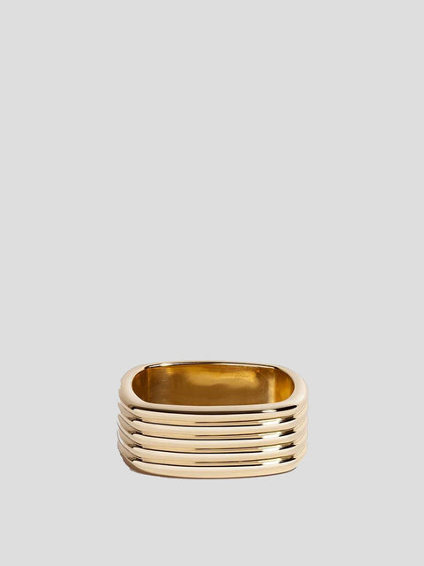 Coil 14k Yellow Gold Ring
