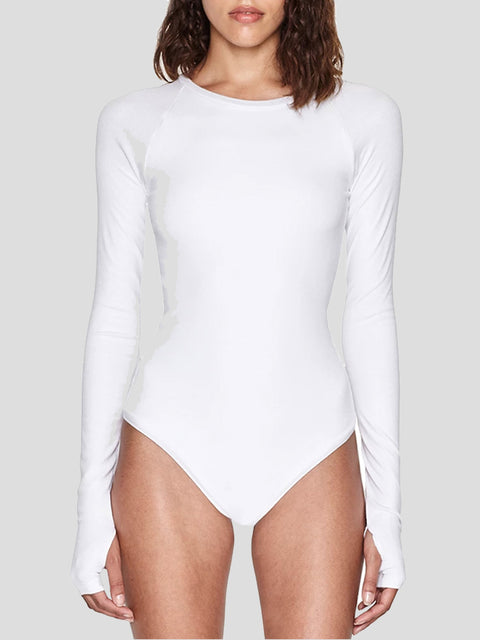 Colby Ribbed Jersey Bodysuit