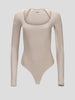 Sullivan Long Sleeve Scoopneck Bodysuit