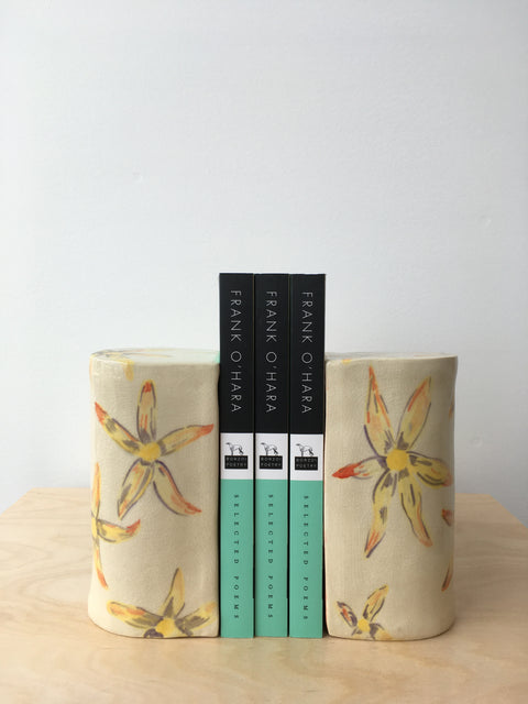 Dahlia Bookends