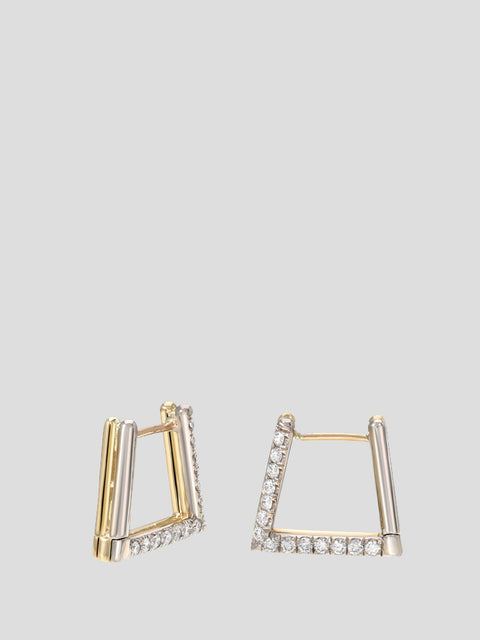 Duo Triangle Earrings,ERA,- Fivestory New York