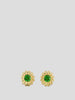 Intuition 18k Yellow Gold and Tsavorite Garnet Studs,Ana Katarina,- Fivestory New York