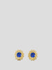 Intuition 18k Yellow Gold and Blue Sapphire Studs,Ana Katarina,- Fivestory New York