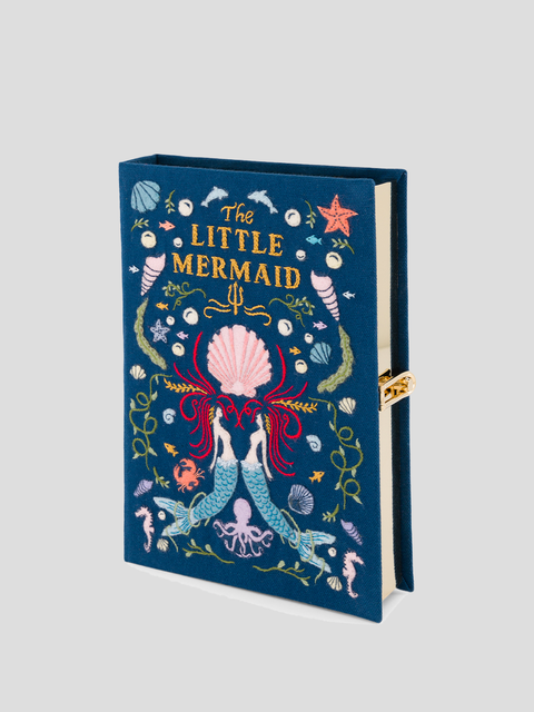Little Mermaid Book Clutch