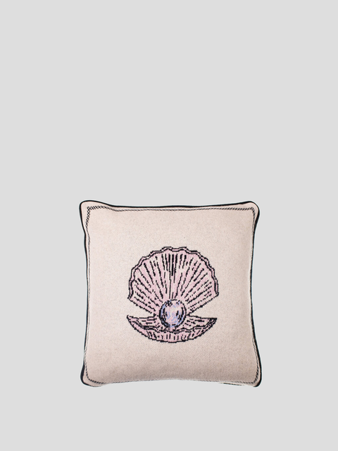 Pearl Graphic Beige Pillow
