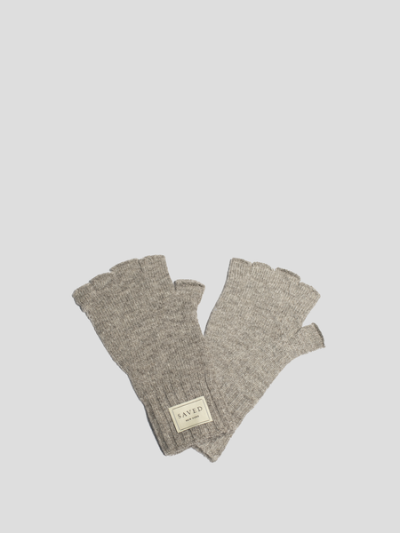 Grey Fingerless Glove