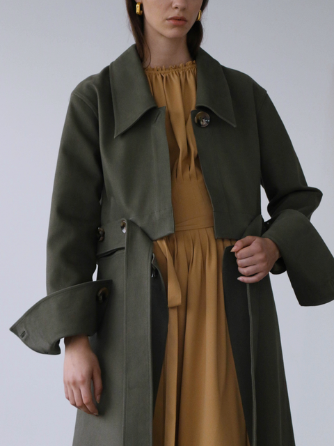 Giana Green Coat