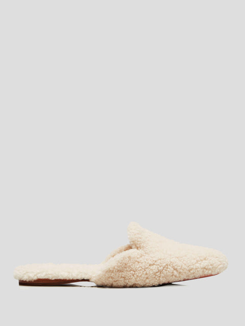 Relax Mule Cream Shearling