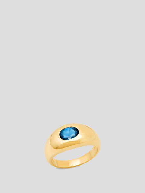 Topaz Gypsy Ring