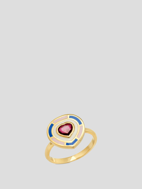 Fontaine Heart Ring