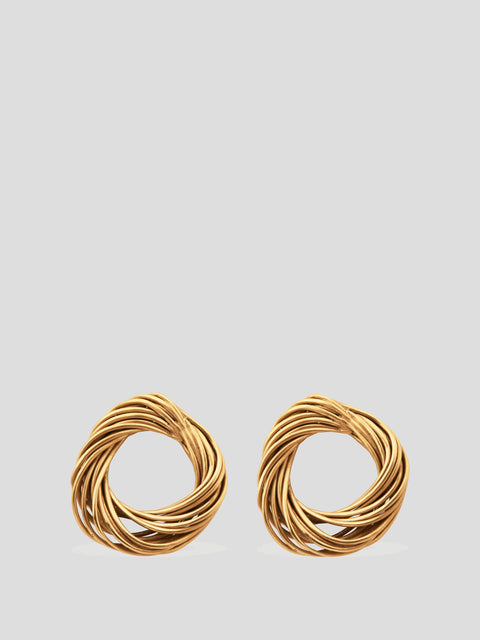 Delights of an Undirected Mind Hoop Earrings