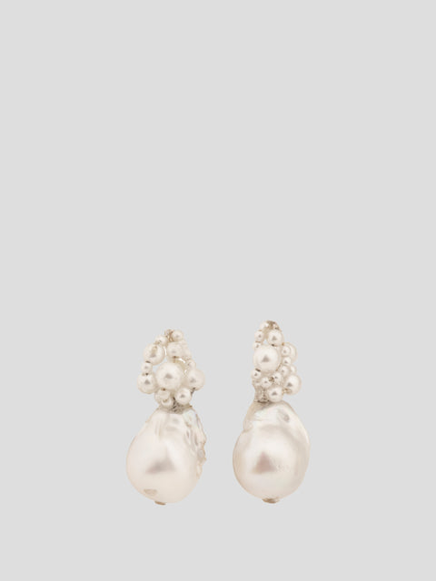 Freshwater Pearl Short Drop Earrings