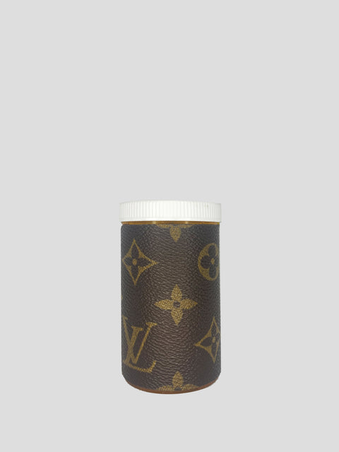 Xl Brown Designer Pill Bottle
