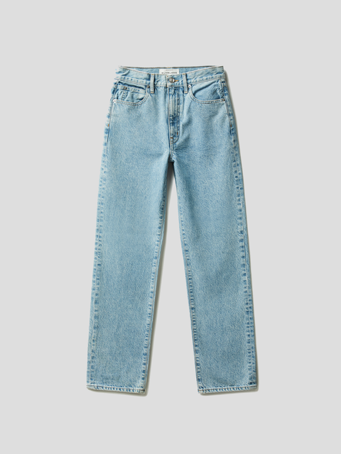 London Clear Skies Light Wash High Rise Jean