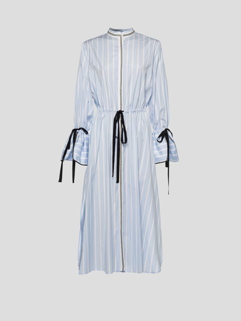 Agatha Tied Shirt Dress