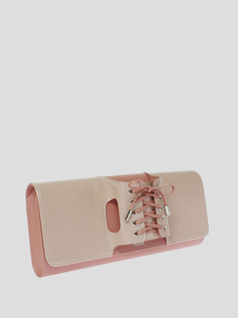 Le Corset Patent-Leather Clutch