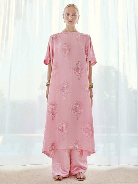 Loukoumi Esme Kaftan Dress