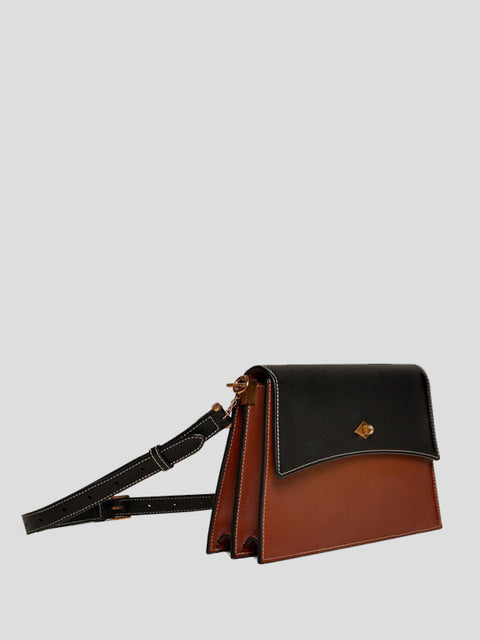 The Roma Two-Tone Shoulder Bag