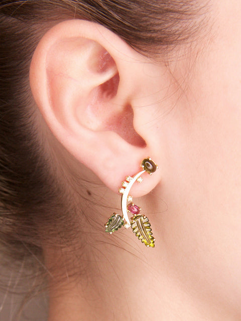 Small Fir Single Earring,Lynsh,- Fivestory New York