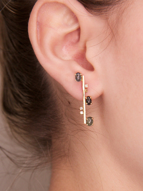 Small Nuda Single Earring,Lynsh,- Fivestory New York