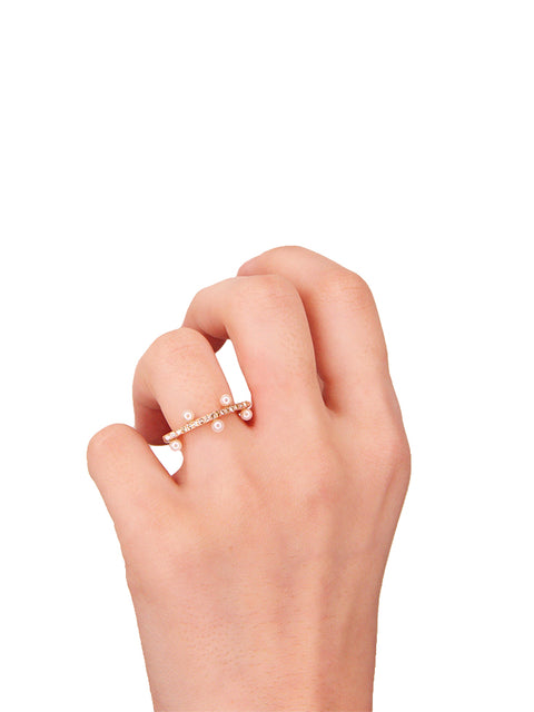 Moth 1.2 Stackable Ring