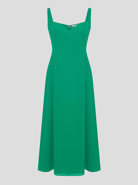 Myrana Crepe Midi Dress