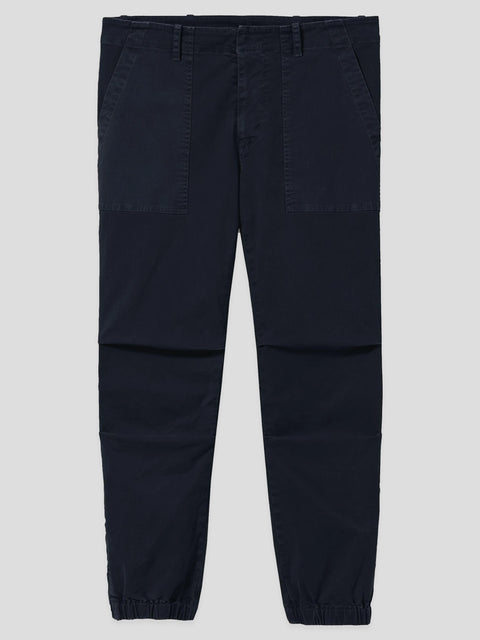 Navy Cropped Military Pant,Nili Lotan,- Fivestory New York