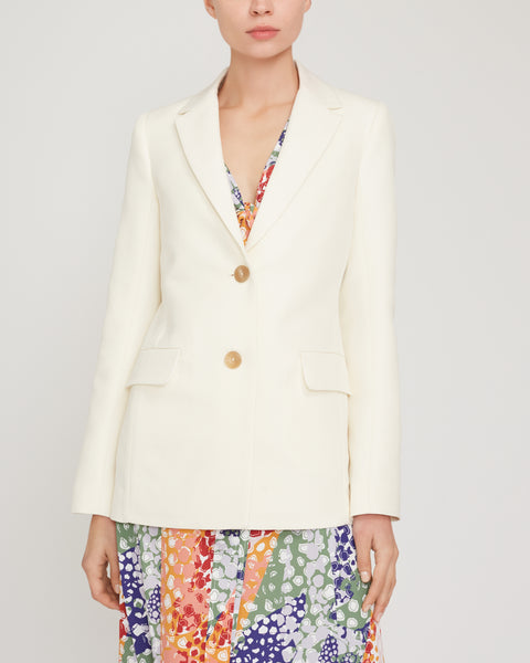 Relaxed Single-Breasted Blazer,Rosetta Getty,- Fivestory New York