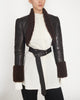 Shearling Bolero Jacket