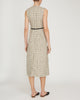 Front Pleat Midi Dress,Victoria Beckham,- Fivestory New York