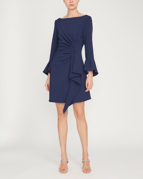 Crepe Ruffle Mini Dress,Jonathan Simkhai,- Fivestory New York