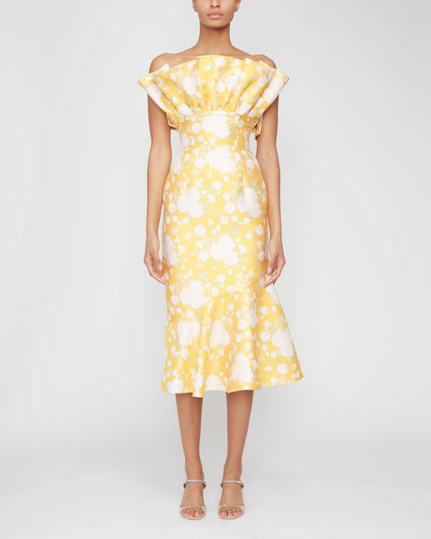 Demeter Fanned Ruffle Dress,MARKARIAN,- Fivestory New York