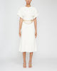 Batwing Short-Sleeve Midi Dress,Victoria Beckham,- Fivestory New York
