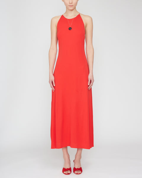 Open-Back Stretch-Jersey Midi Dress,Rosetta Getty,- Fivestory New York