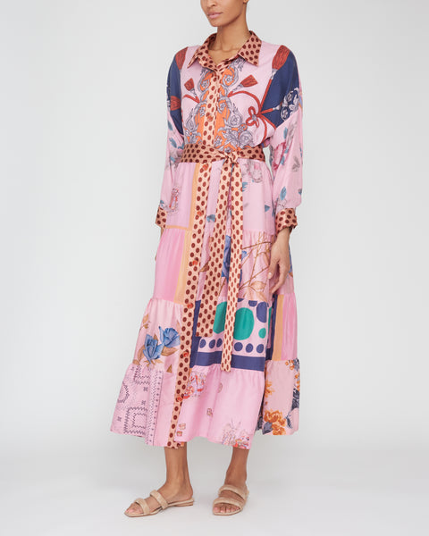 One Of A Kind Shirt Dress,Rianna + Nina,- Fivestory New York