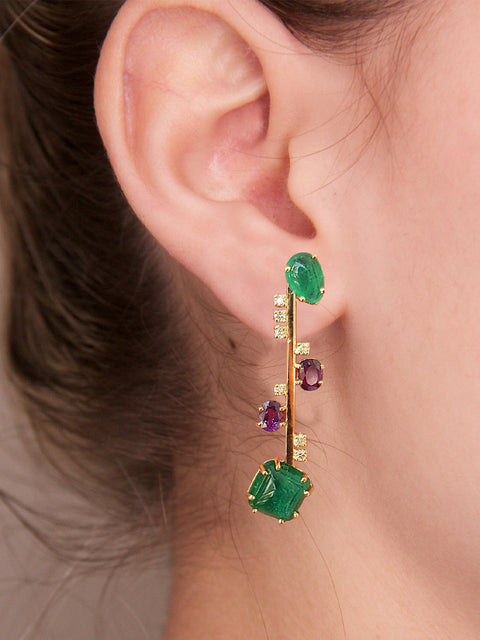 Large Nuda Single Earring