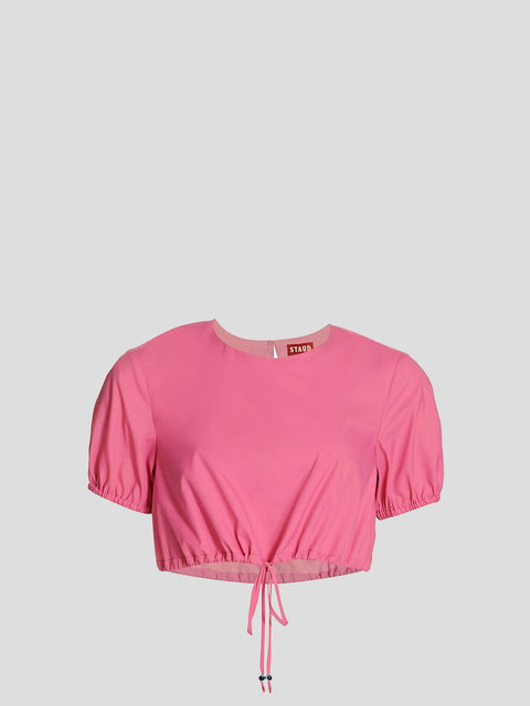 Prato Pink Crop Top