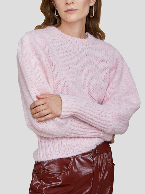 Mindy Light Pink Sweater