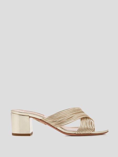 Perugia Cross-Strap Sandals