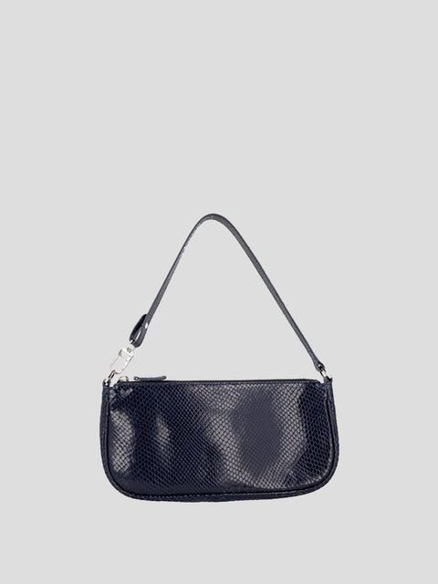 Rachel Snake Print Shoulder Bag