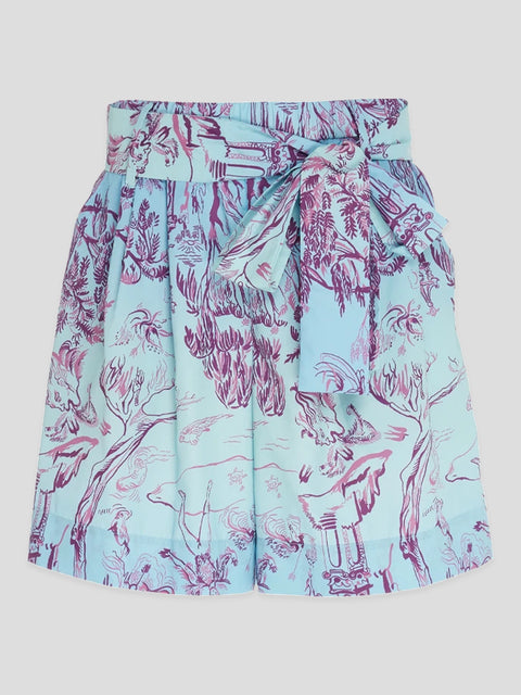 Sage Printed Shorts,Staud,- Fivestory New York