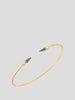 Pave Spear Shirley Bangle,Sarah Hendler,- Fivestory New York