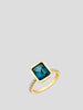 Shirley Bezel Set Emerald-Cut Ring,Sarah Hendler,- Fivestory New York