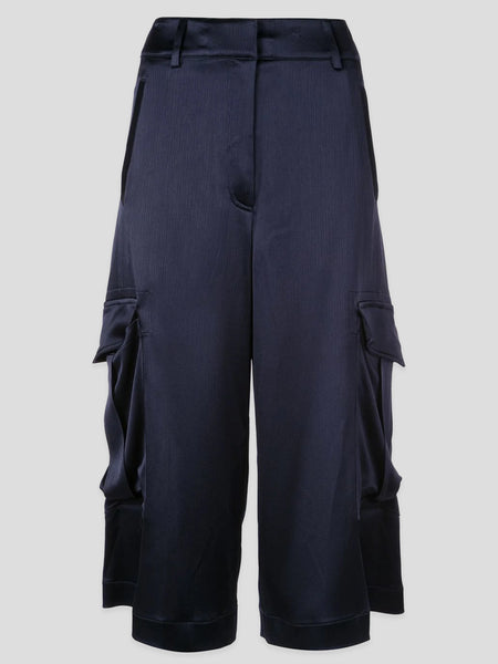 Sidney Textured-Satin Cargo Shorts,Sies Marjan,- Fivestory New York