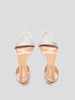 85mm So Nude Crystal Sandals