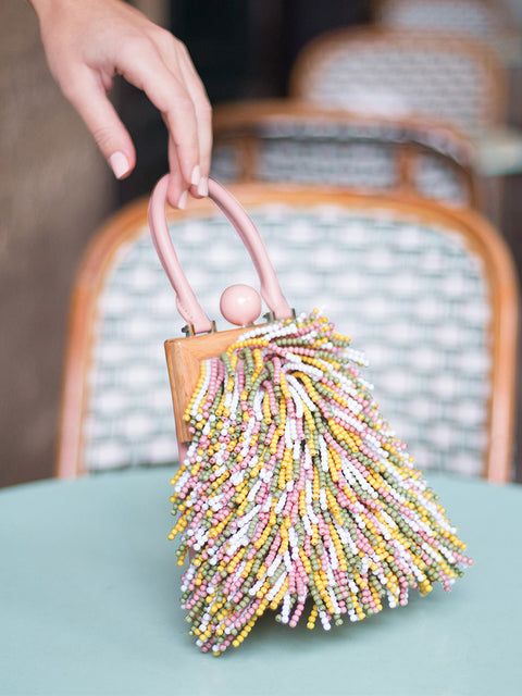 Le Mini Attelage with Beaded Fringe