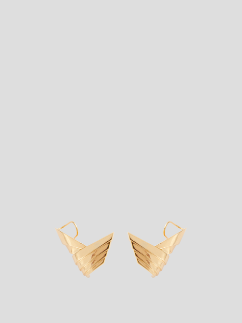 Susan Gold-Plated Brass Earrings